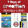 Free 7 Days of Creation Printable Craft
