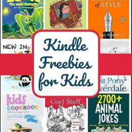14 Kindle Freebies for Kids: Elements of Style, Animal Jokes, Kids Cookbook & More!