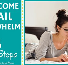 Free Overcome Email Overwhelm 6-Step Challenge