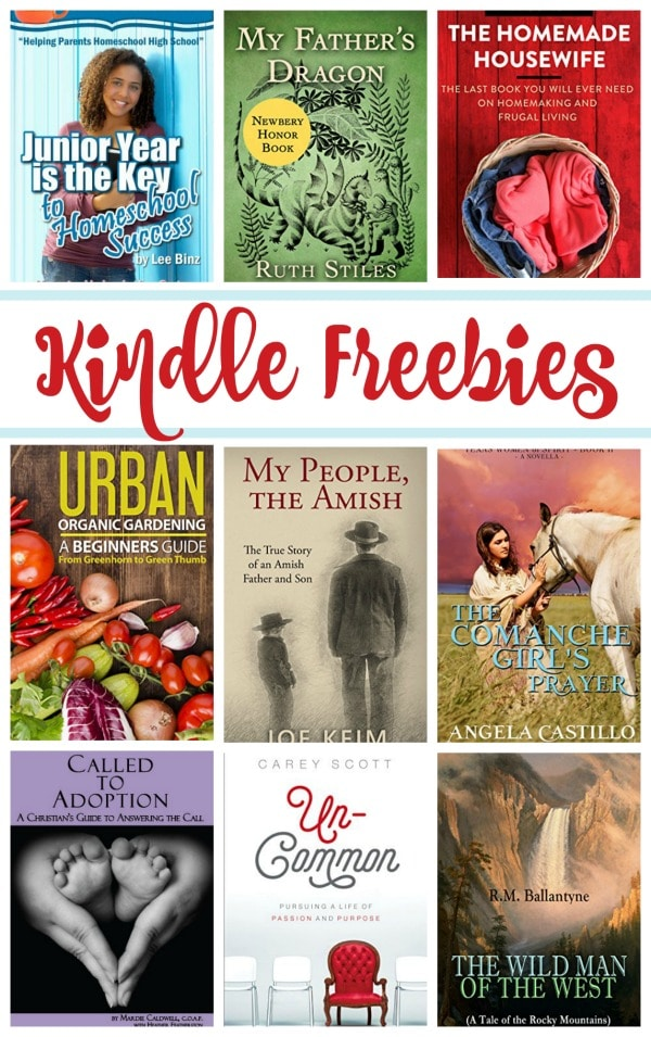 16 Kindle Freebies: My Father's Dragon, Called to Adoption, & More!
