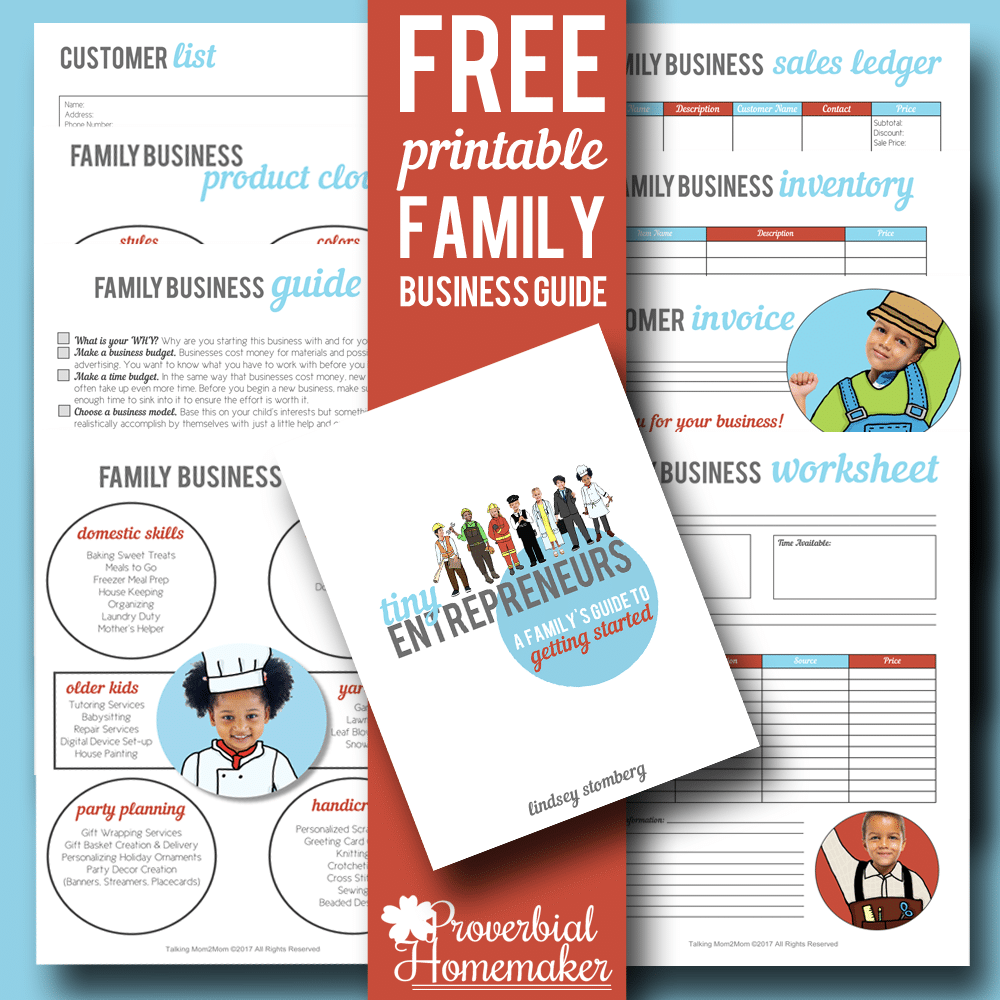 Free Printable Family Business Guide