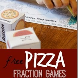 Free Pizza Fraction Games