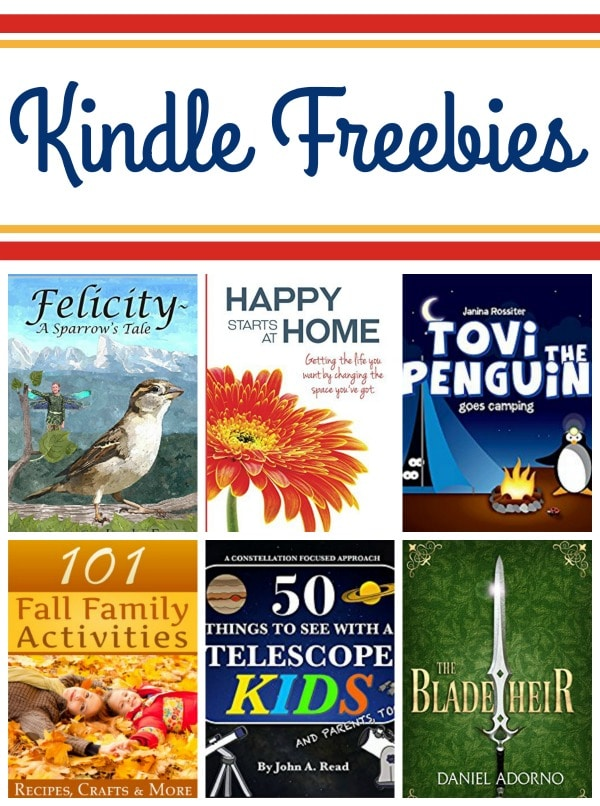 12 Free Kindle Books: Pinocchio, Landscape Photography, & More!