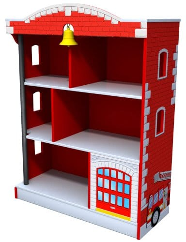 Kidkraft Firehouse Bookcase Only $58.99! (Reg. $156!)