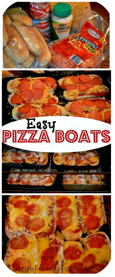 Easy Pizza Boat Recipe