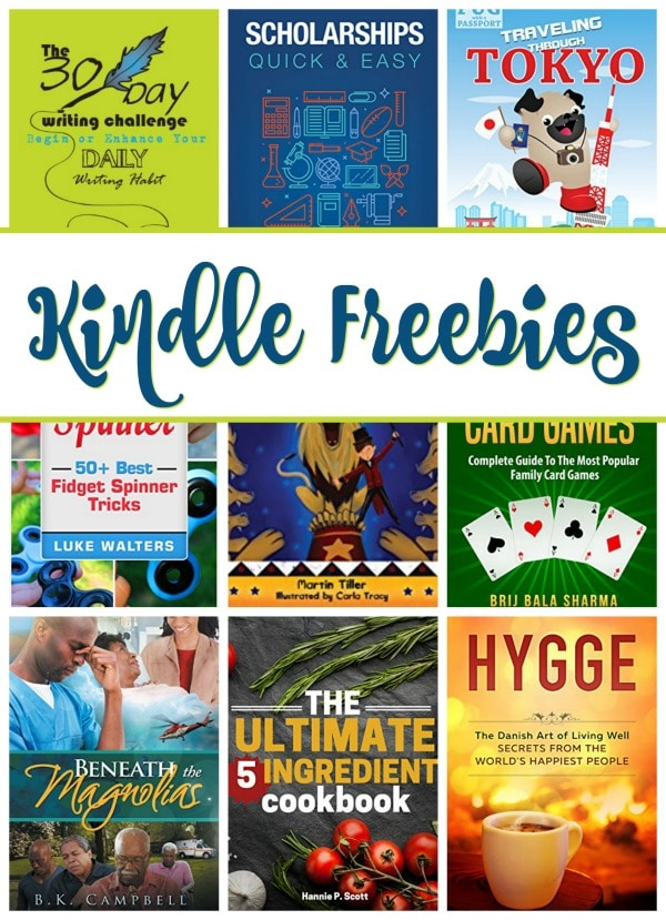 19 Free Kindle Books: Beneath the Magnolias, 5 Ingredient Cookbook, & More!