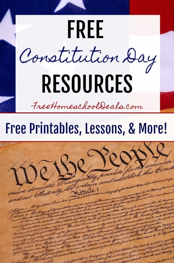 Constitution day printable activities first grade