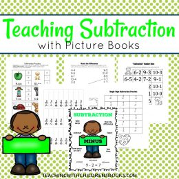 Free Teaching Subtraction with Picture Books Printables