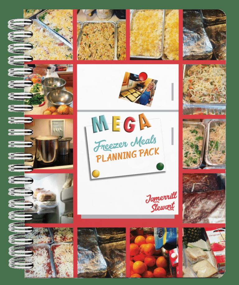 Free MEGA Freezer Meals Planning Pack