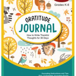 Free Gratitude Journal Printables (Reg. $3.50)