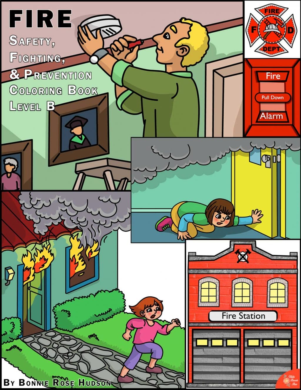 Free Fire Safety & Prevention Coloring Book - Limited Time!   Free ...