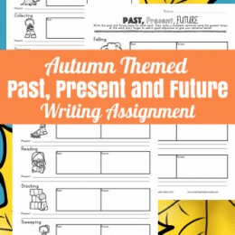 Free Fall Past, Present, & Future Writing Pack