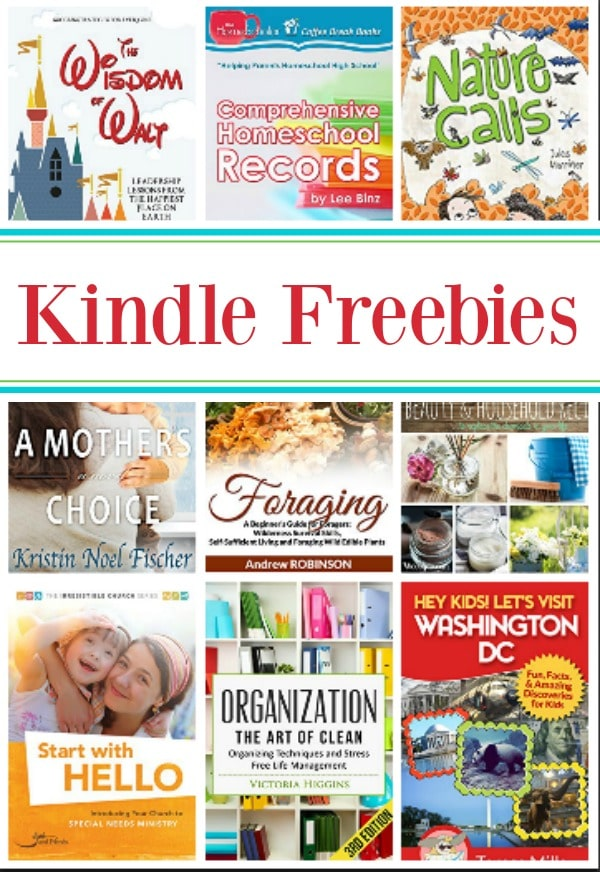 15 Kindle Freebies: Comprehensive Homeschool Records, Wisdom of Walt, & More!