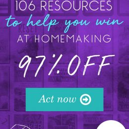 Ultimate Homemaking Bundle Only $29.97 – 97% Off! (TWO DAYS ONLY!)