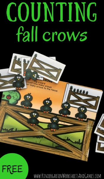 Free Fall Crows Counting Mats