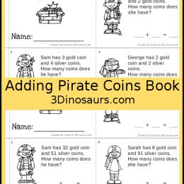 Free Adding Pirate Coins Book