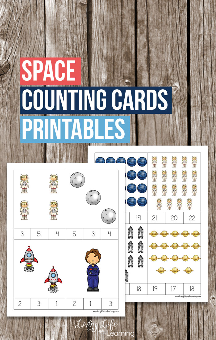 Free Space Counting Cards