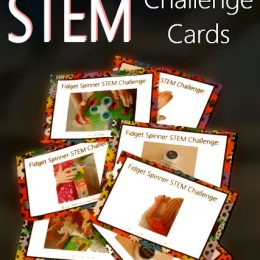 Free Fidget Spinner STEM Challenge Cards
