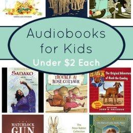 Audiobook Deals for Kids Under $2 Each!