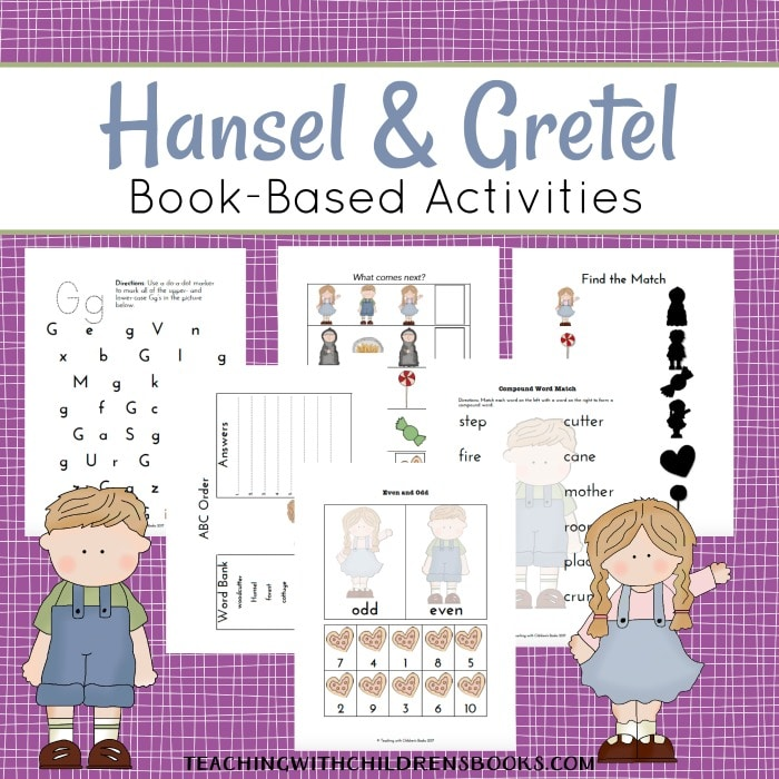 Free Hansel & Gretel Printable Pack