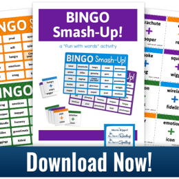 Free BINGO Smash-Up! Word Game