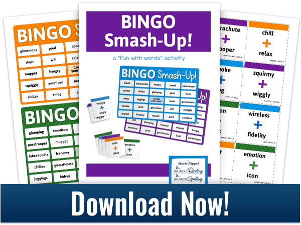 Free BINGO Smash-Up! Word Game