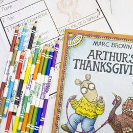 Free Thanksgiving Writing Activity