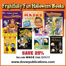 25% Off Dover Little Activity Books – Great Party Favors or Halloween Treats!