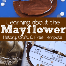 Free Mayflower Printable Craft