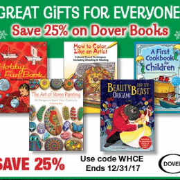 25% Off Dover Products – Great Gifts for Everyone!