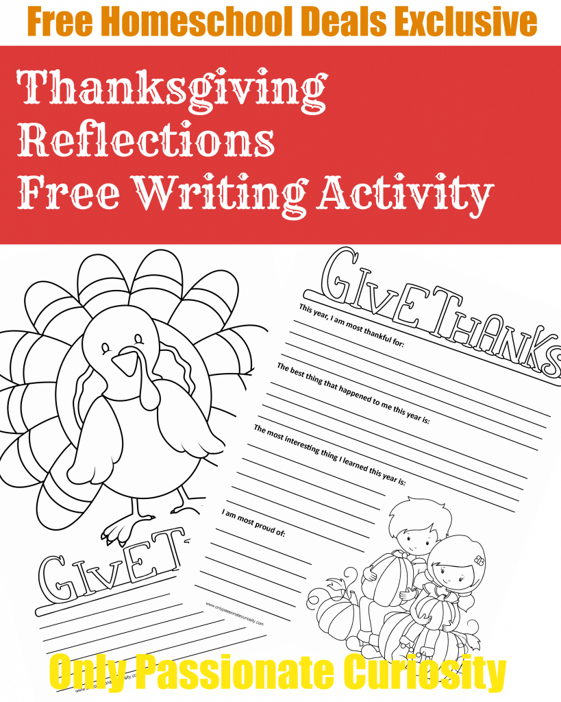 FREE THANKSGIVING WRITING PACK