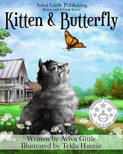Kitten & Butterfly