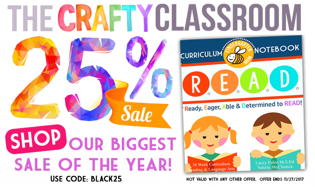 25% Off The Crafty Classroom Products - Best Prices of the Year!