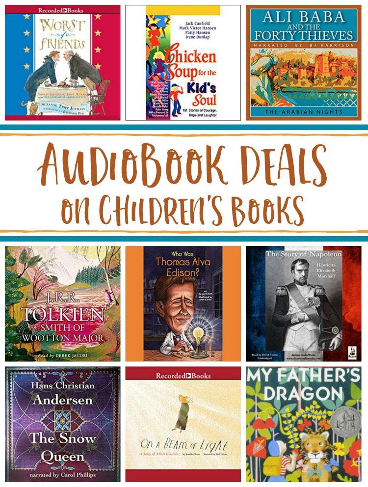 19 Audiobook Deals for Kids - My Father's Dragon, The Snow Queen, & More!