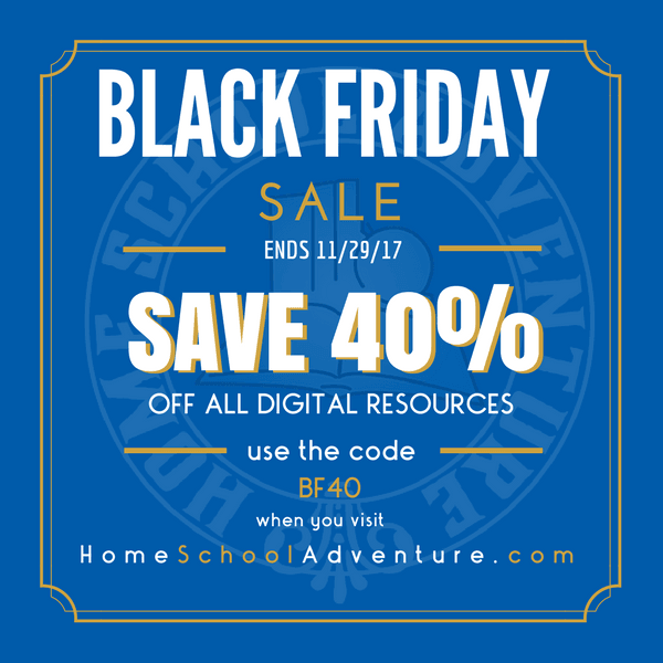 40% Off All Digital Resources at Home School Adventure