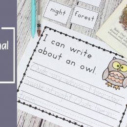 Free Forest Animal Writing Prompts
