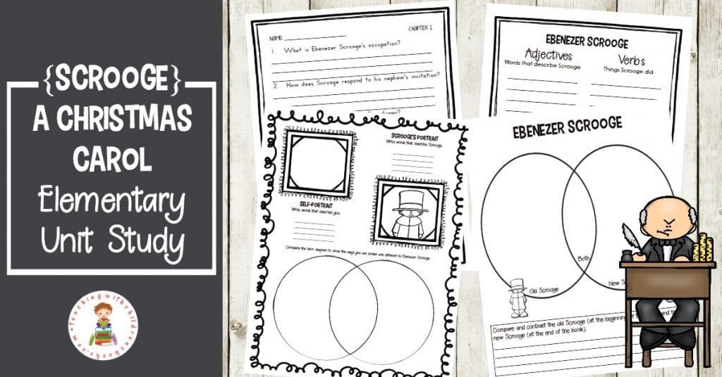 Free A Christmas Carol Elementary Unit Study