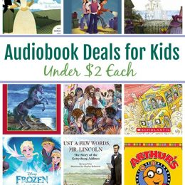 13 Audiobooks for Kids Under $2: Stories of the Pilgrims, Nancy Drew, Magic School Bus & More!