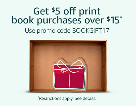 $5 Off $15 Book Purchase at Amazon!