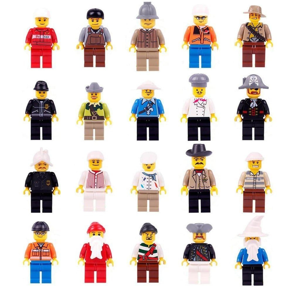 Community Minifigures 20 Piece Set Only $11.99! ($0.60 Each!)