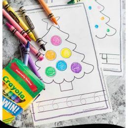 Free Christmas Counting Book (Numbers 1-30)