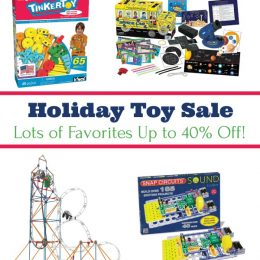 40% Off Holiday Toy Sale – Lots of Educational Choices! (TODAY ONLY!)