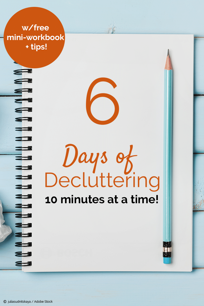 Free Six Day Decluttering Challenge