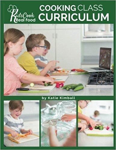 Kids Cooking Class Curriculum Book Only $25! (Reg. $45!)