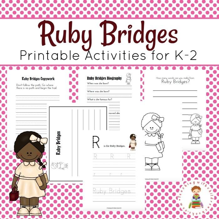 Free Ruby Bridges Printable Pack