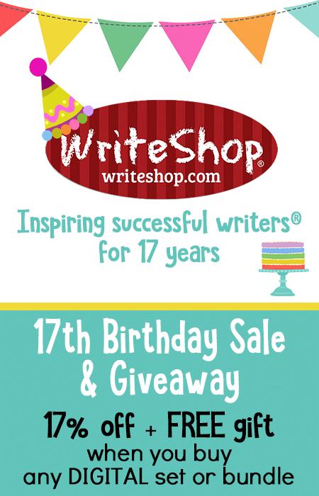 17% Off Digital Writing Curriculum Sets at WriteShop + Freebie