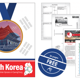 Free South Korea Unit Study – Perfect Before the Winter Games!