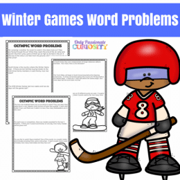 Free Winter Games Word Problems