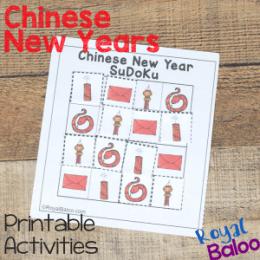 Free Chinese New Year Unit Study