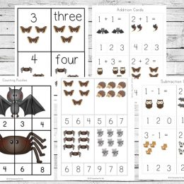 Free Nocturnal Animals Printable Pack